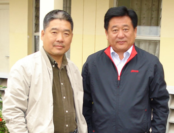 Beijing Mayor before his flight to Masai Mara - Safarilink