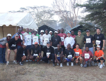 Safarilink Participated in the Lewa Marathon 2009