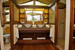 Luxury Double tent washrooms