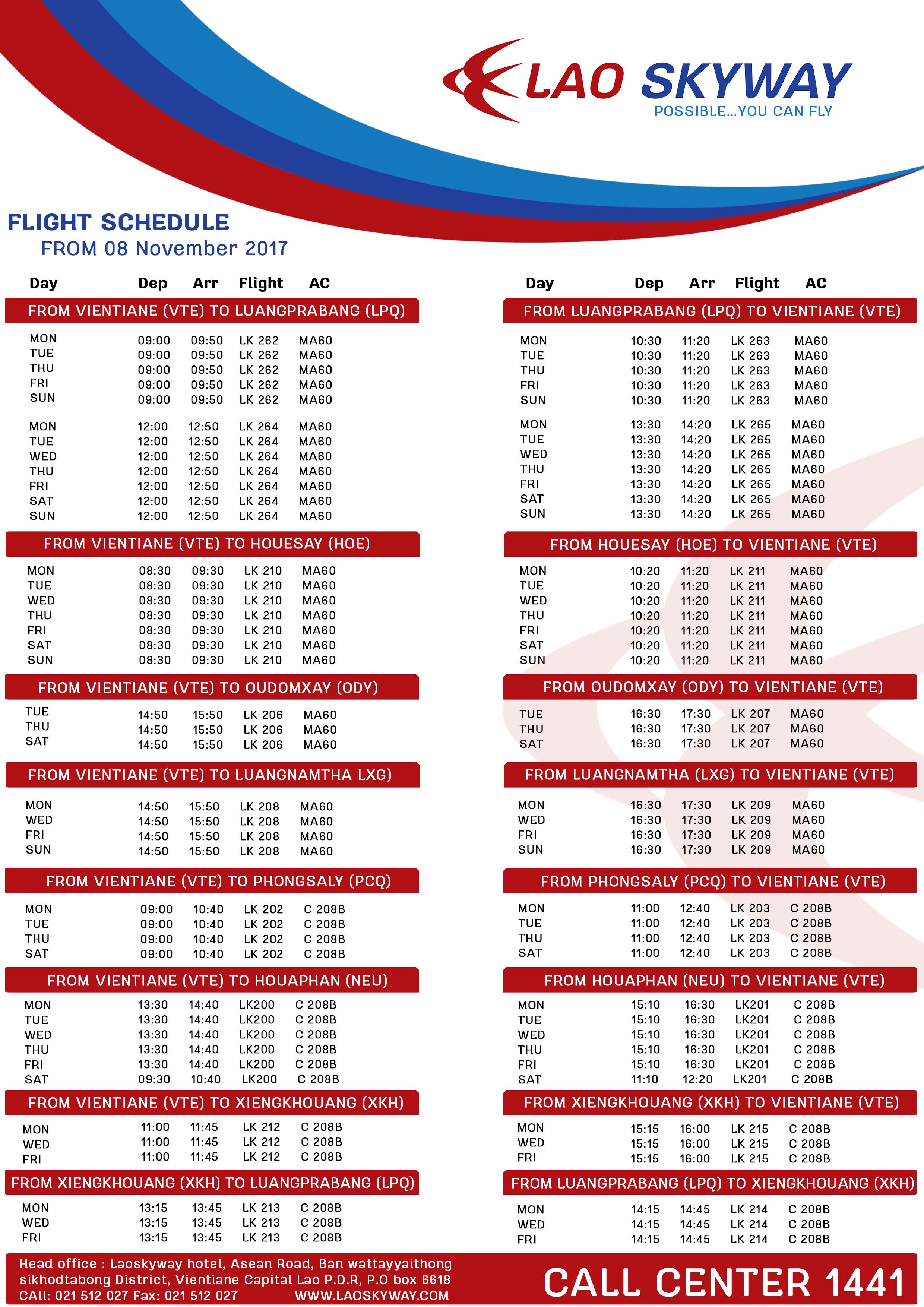 Flight Schedule new2(1) 6