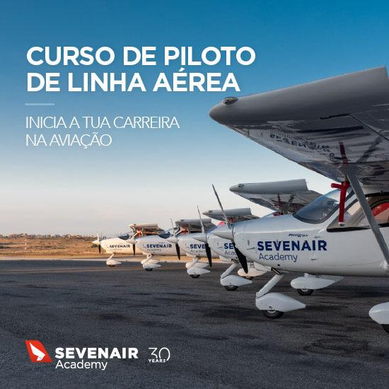 Curso de Piloto de Linha Aérea na Sevenair Academy