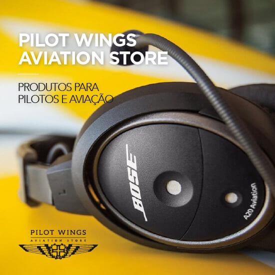 Pilot Wings loja de produtos para pilotos e aviação em Cascais