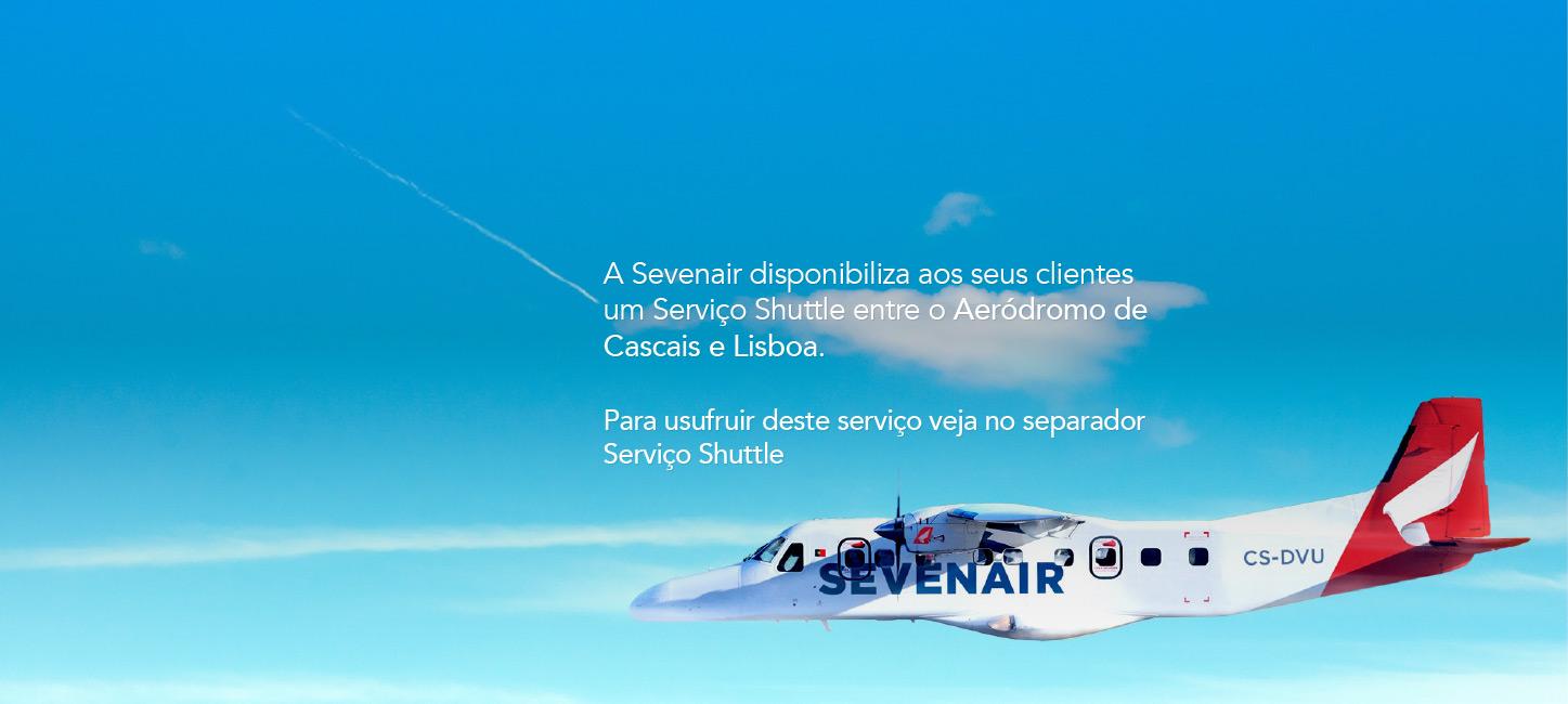 Sevenair Linha Aérea Regional de Bragança' Vila Real' Viseu' Cascais e Portimão