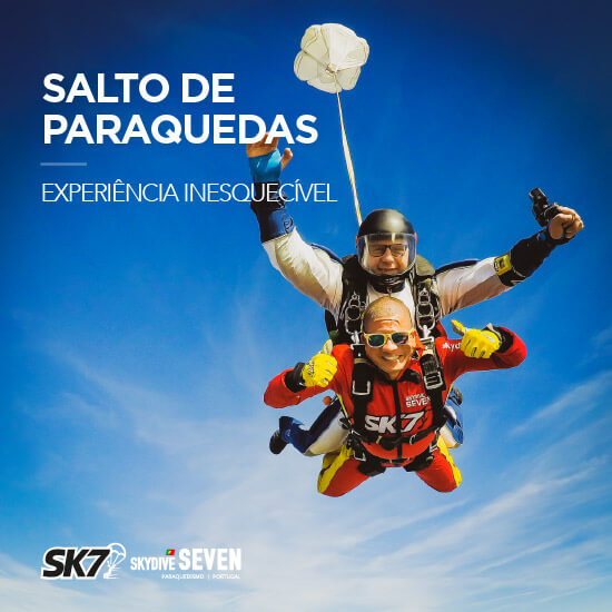 Skydive Seven Algarve. Tandem Skydiving Portugal.