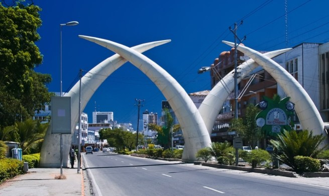 Mombasa Tusks Skyward