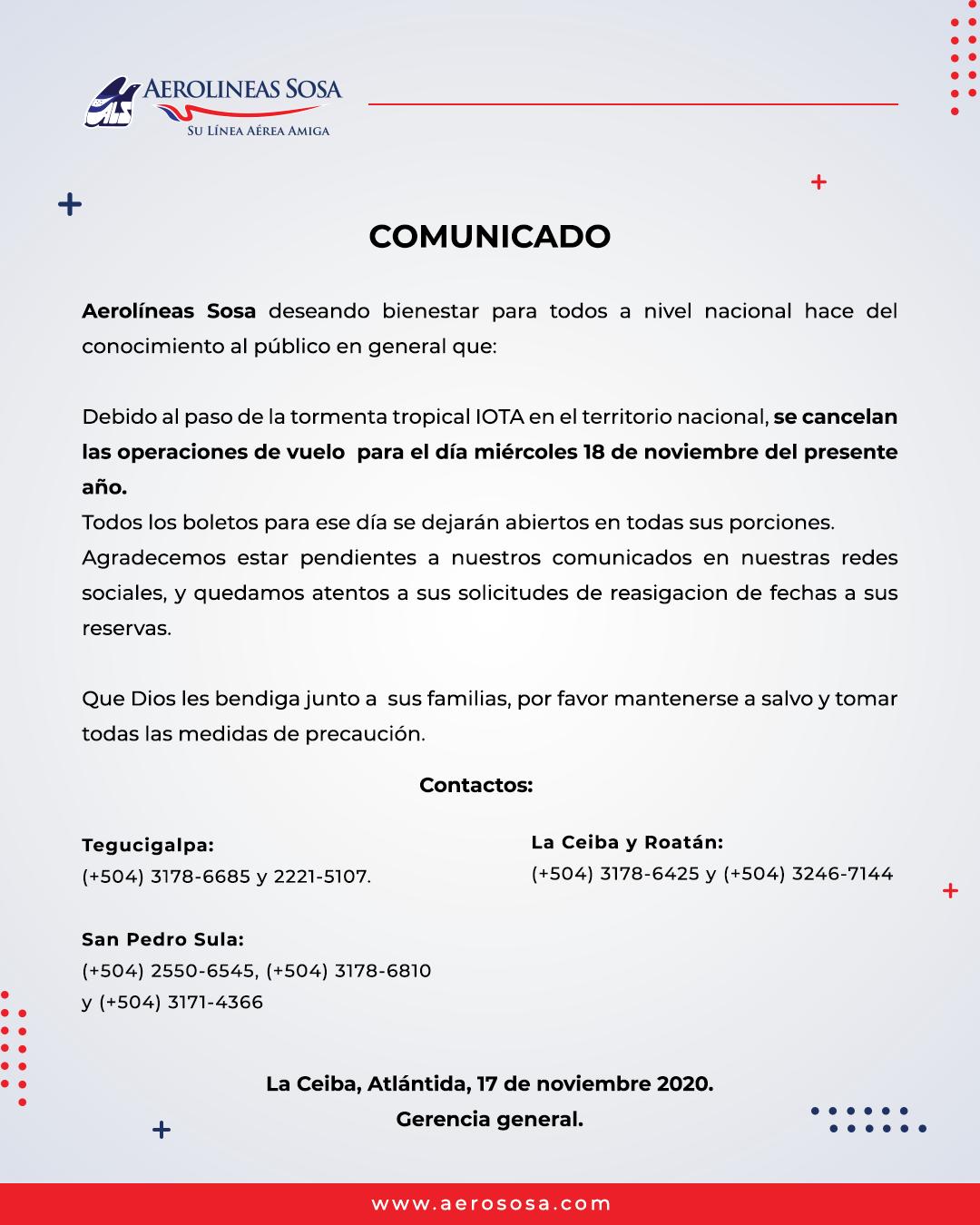 Comunicado 171120
