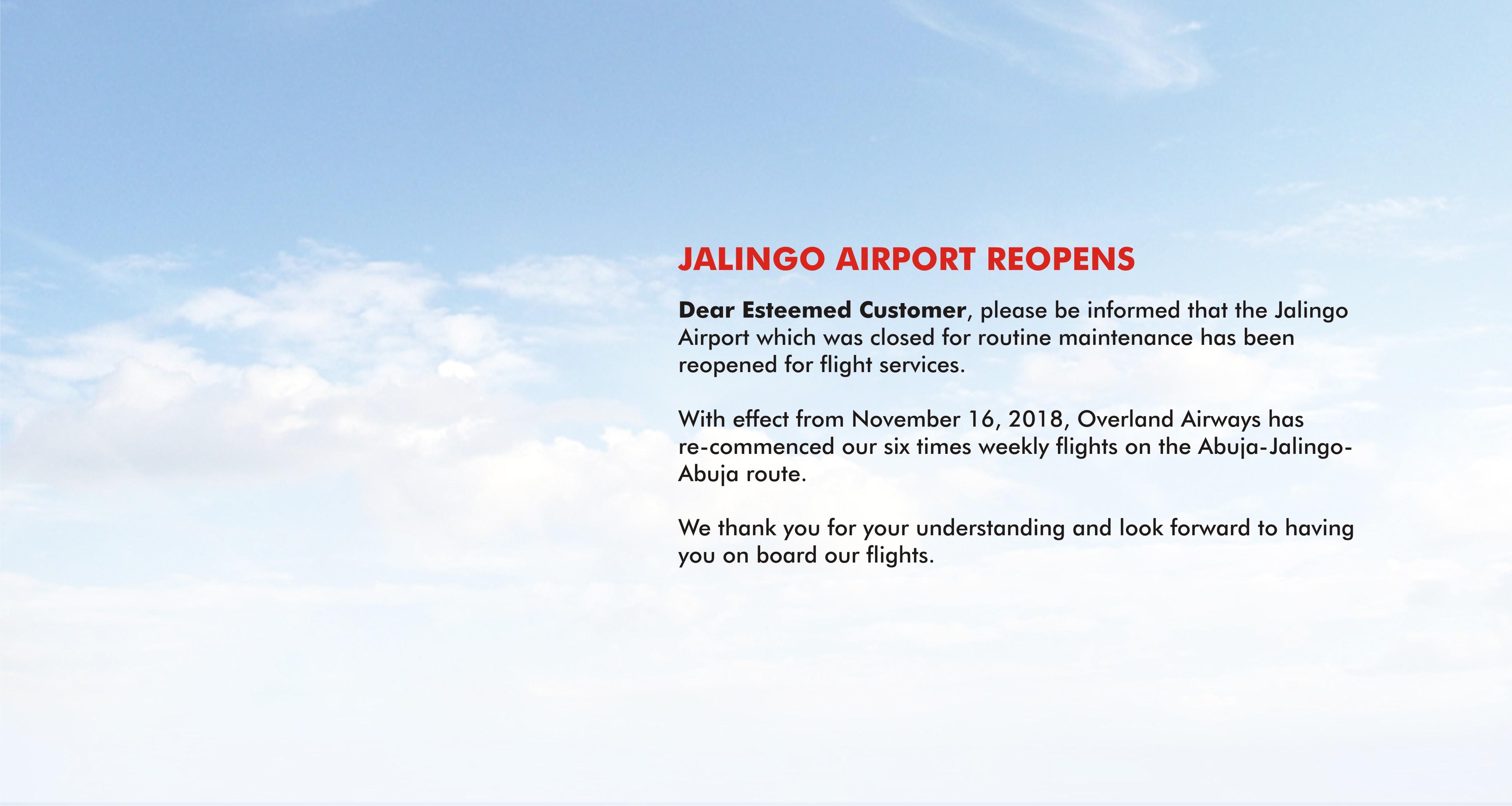 JalingoReopens
