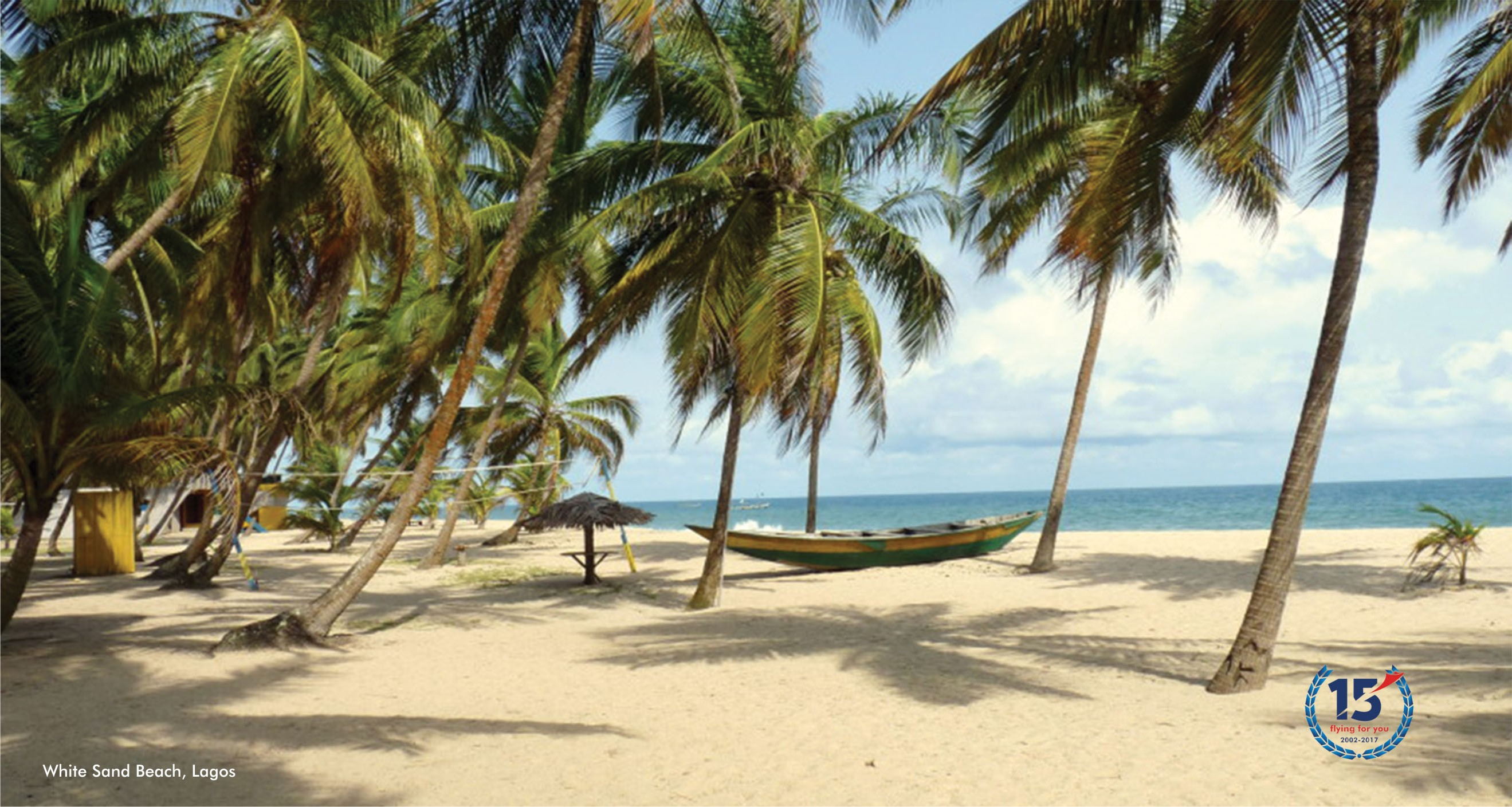 White sand beach lagos