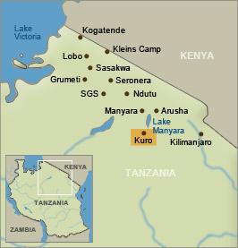 Air Excel - Fly to Kuro (Tarangire National Park) Tanzania