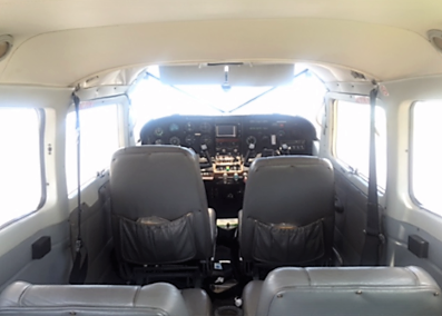 Cessna 207 ARD from inside