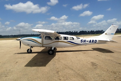 Cessna 207 ARD from outside