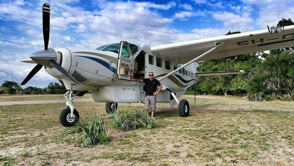 Charter Plane to Selous