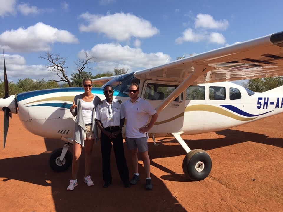 Private Charter into Selous