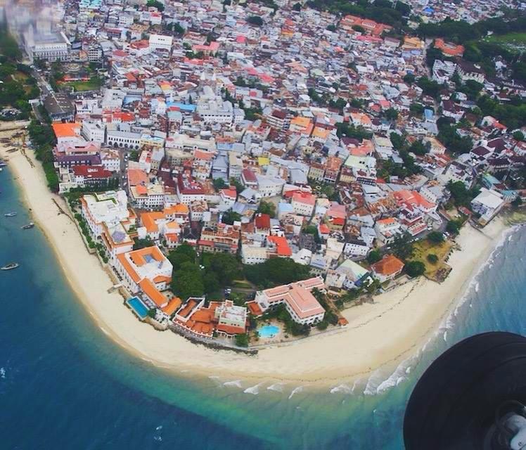 Scenic Flight Stone Town