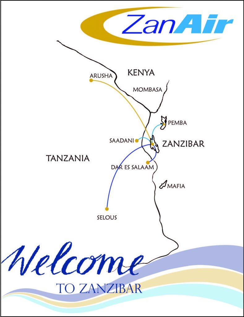 ZanAir Routes