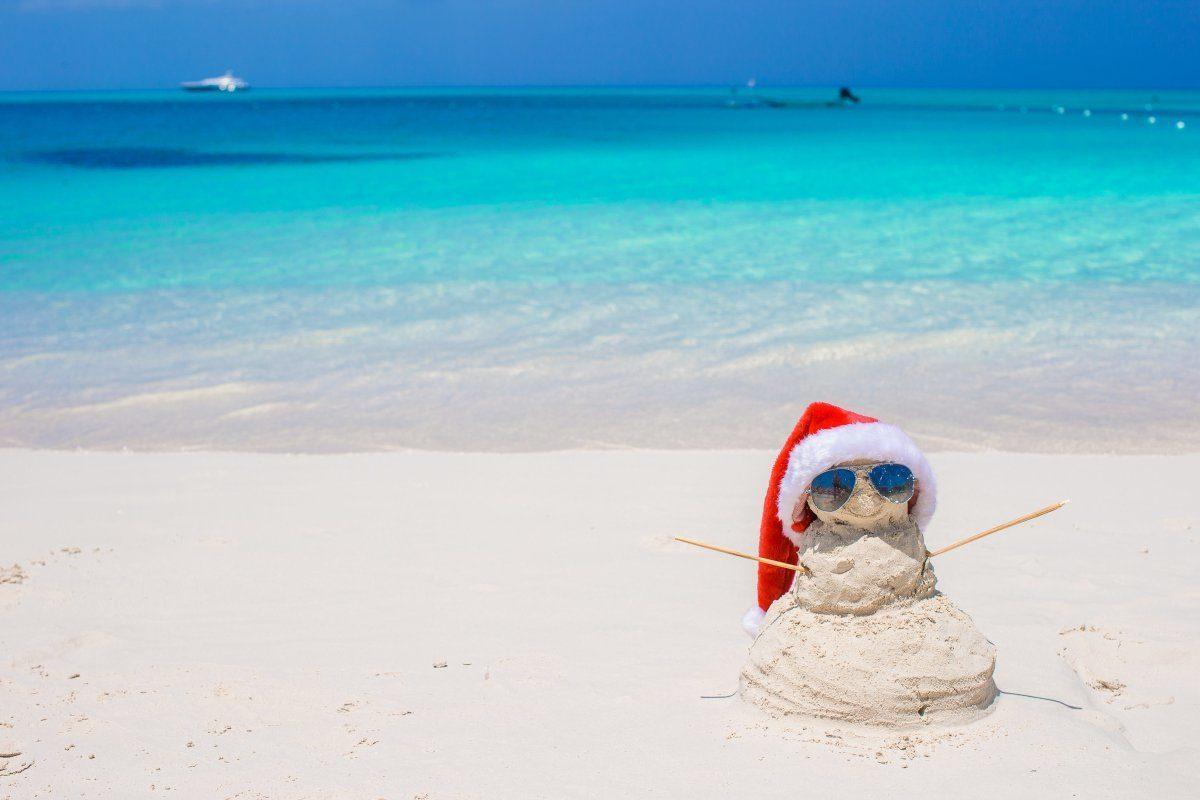 Caribbean christmas sandman