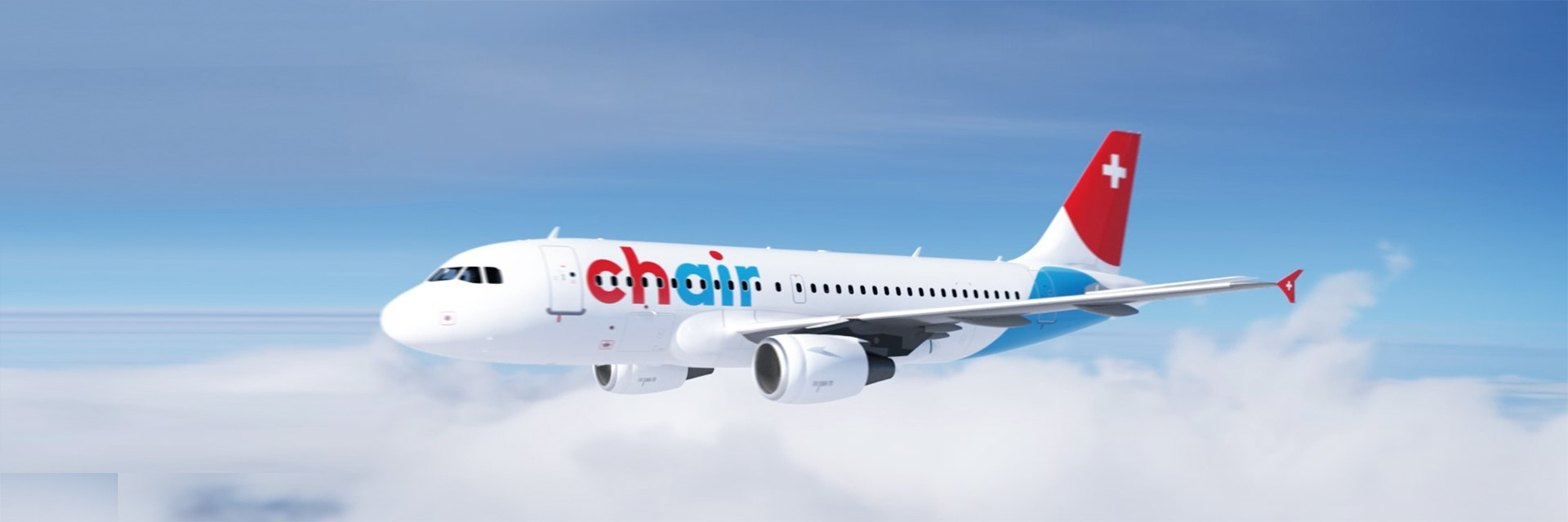 Homepage banner aircraft