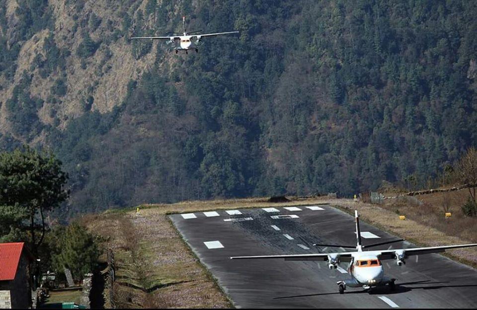 Landing @ Lukla