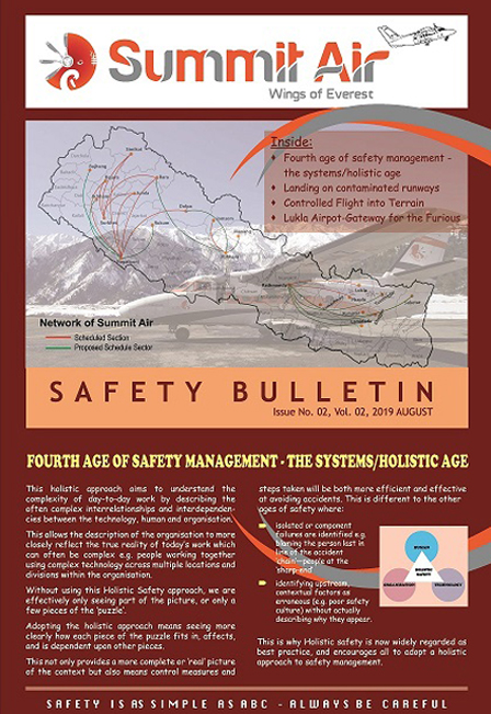 Safety Bulletin Issue Vol 2 Page II 1