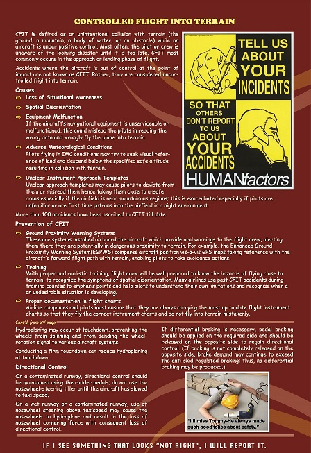 Safety Bulletin Issue Vol 2 Page III
