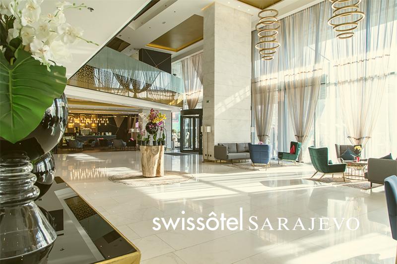 Swissotel Sarajevo Exterior View b1