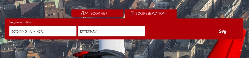 søg reservation svar 800