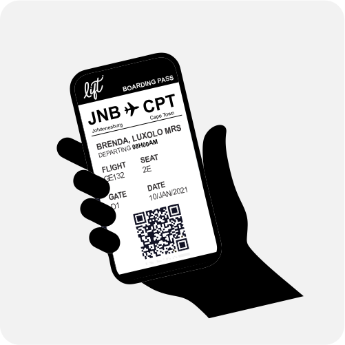 Image of Lift Digital Boarding Pass