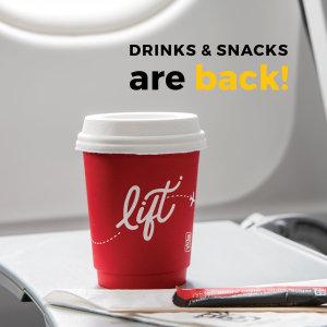 Drinks & Snacks are Back!