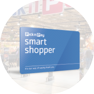 Image of a Pick n Pay Smart Shopper Card