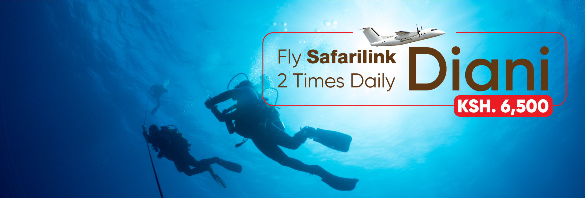Fly Safarilink To DianiBeach Deals