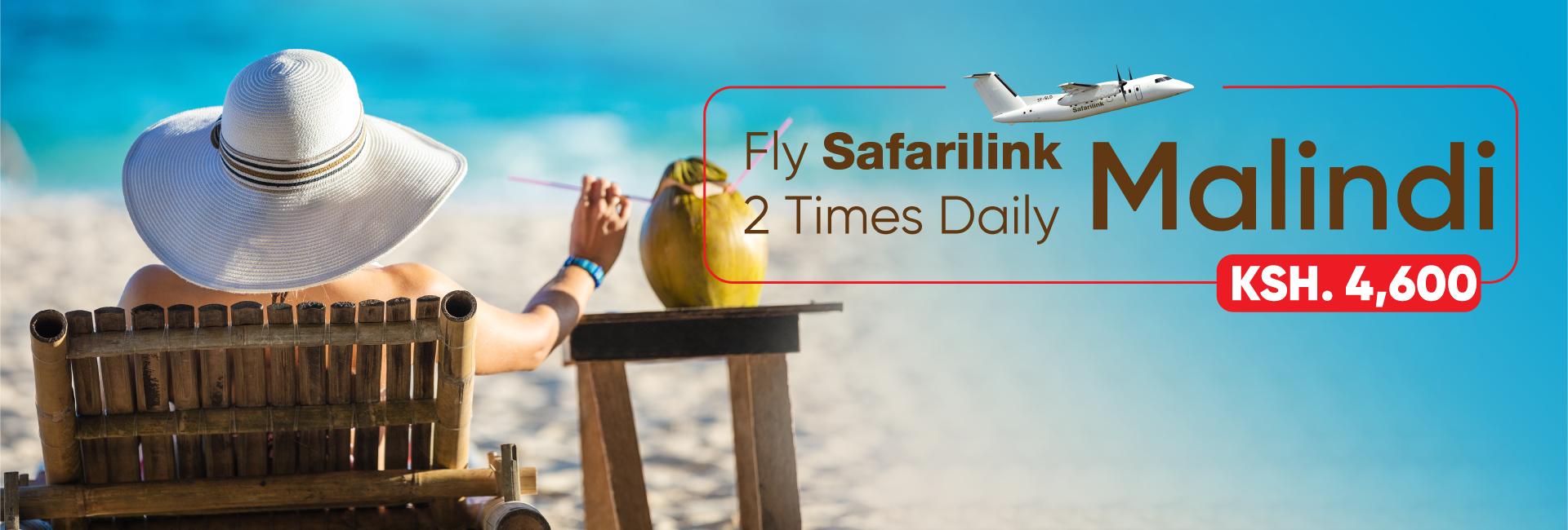 Fly Safarilink To Malindi Deals