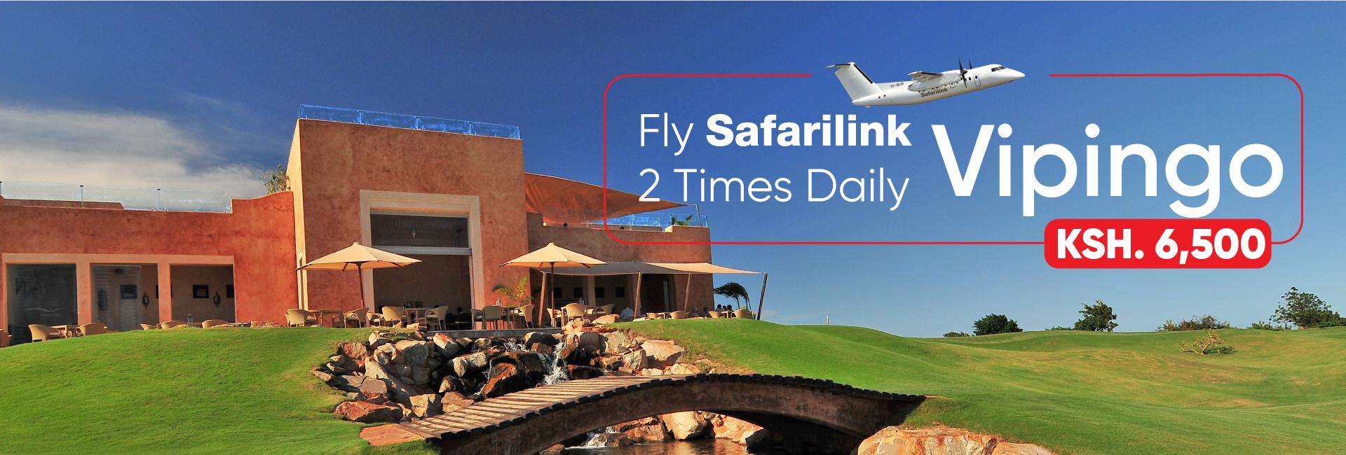 Fly Safarilink To Vipingo Deals