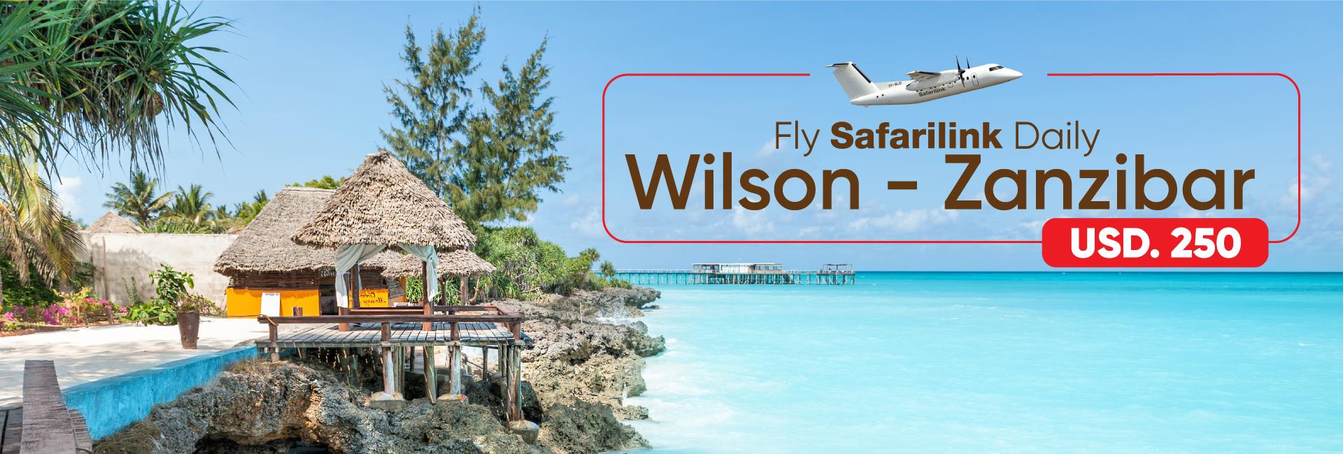 Fly Safarilink To Zanzibar Deals