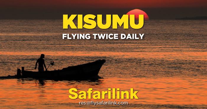 fly to Kisumu
