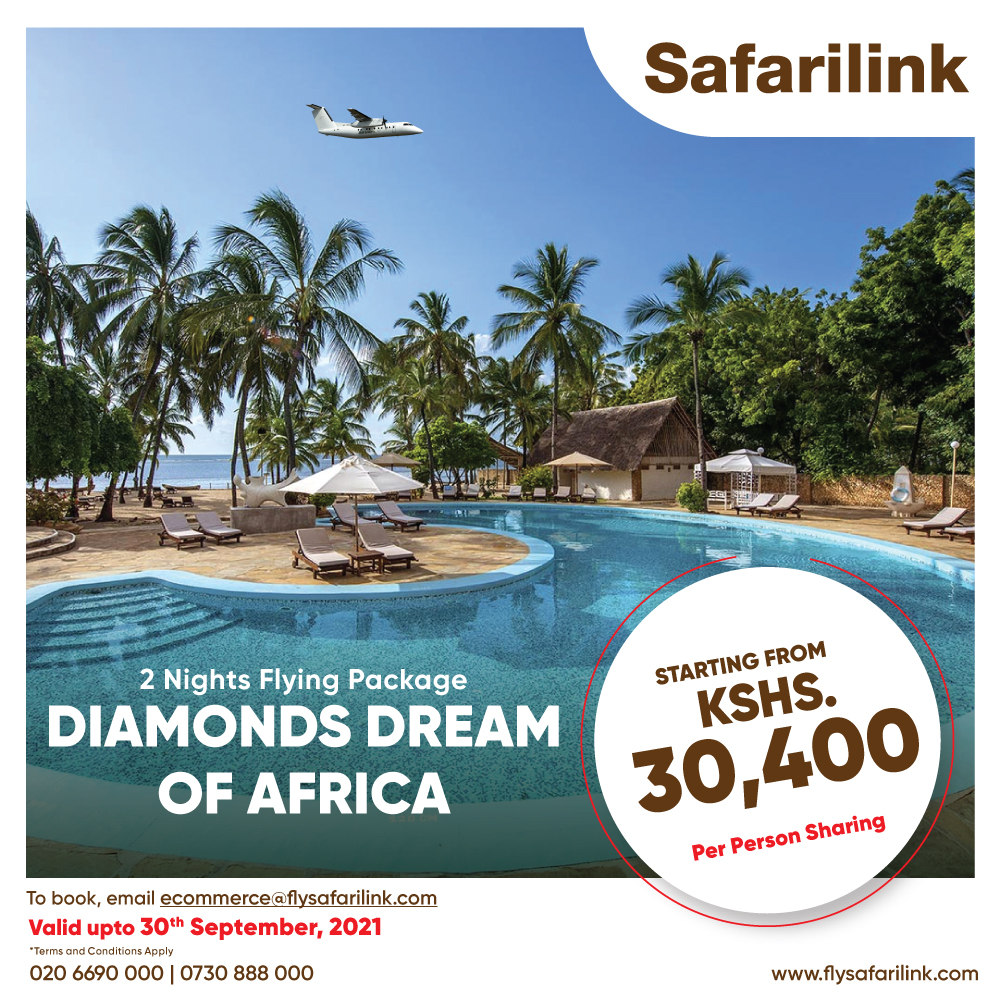 Safarilink Flying Package Diamonds Dream of Africa Hotel Offers