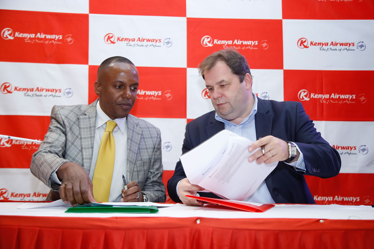 Safarilink KenyaAirways Codeshare