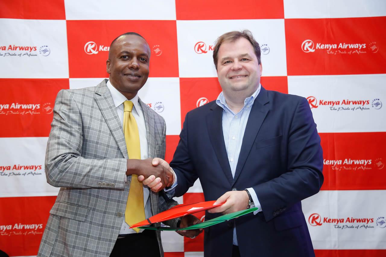 Safarilink KenyaAirways Codeshare agreement