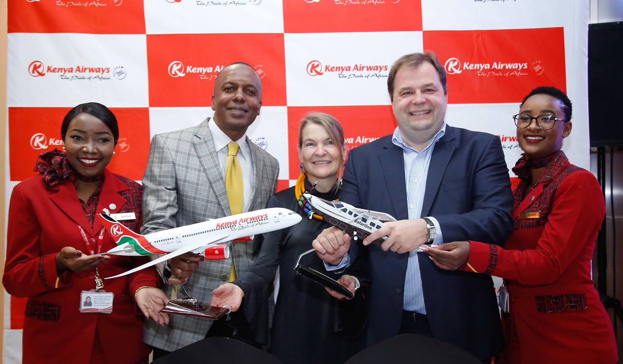 Safarilink Kenya Airways Codeshare