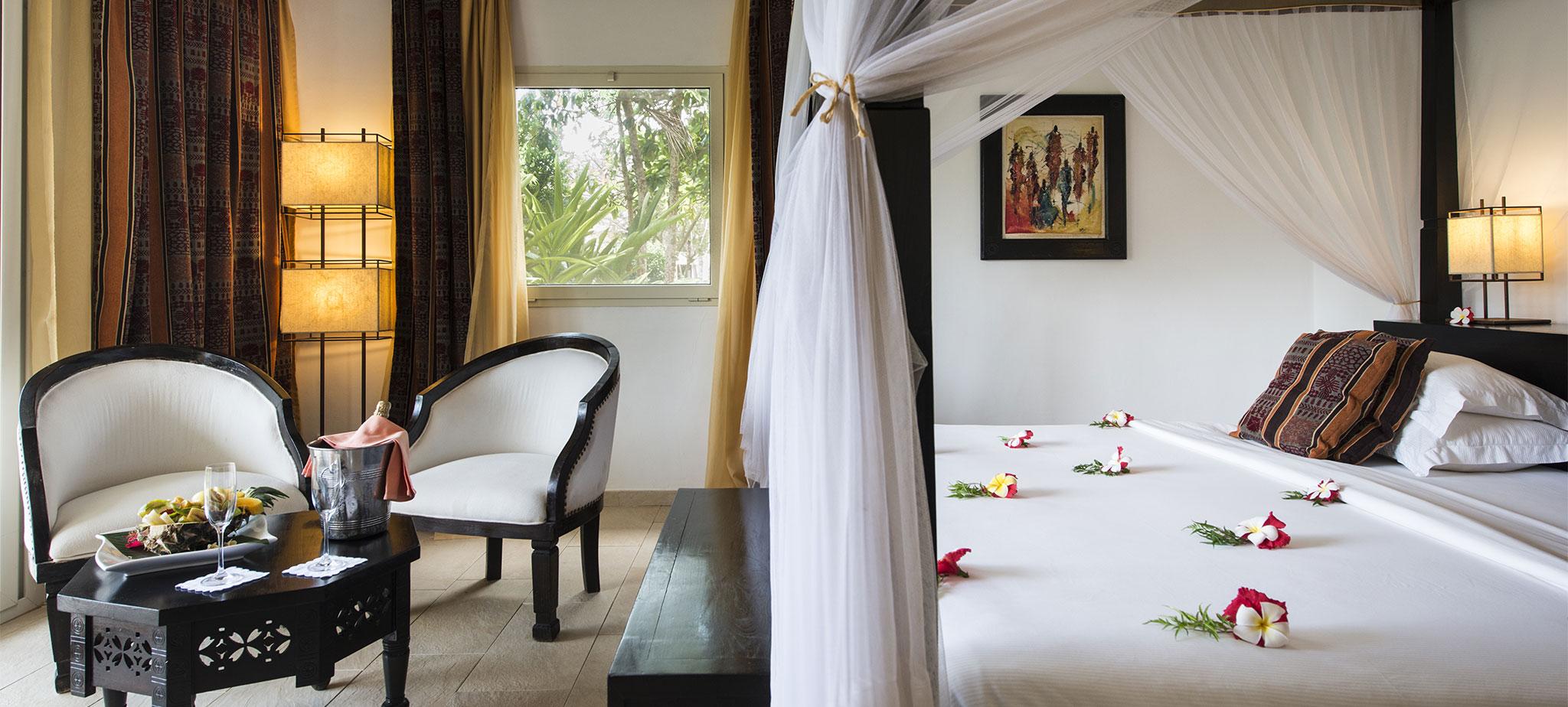 Safarilink-3 nights Dream of Zanzibar Resort Flying Package