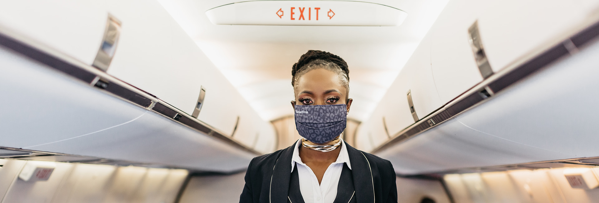 inflight cabin crew face masks