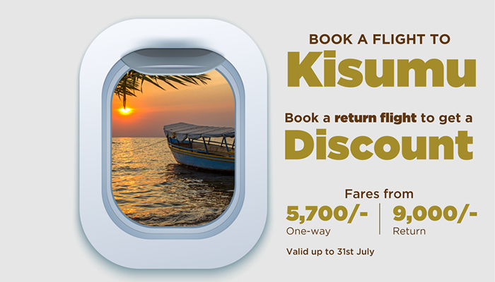 Safarilink Cheap flight deals to Kisumu