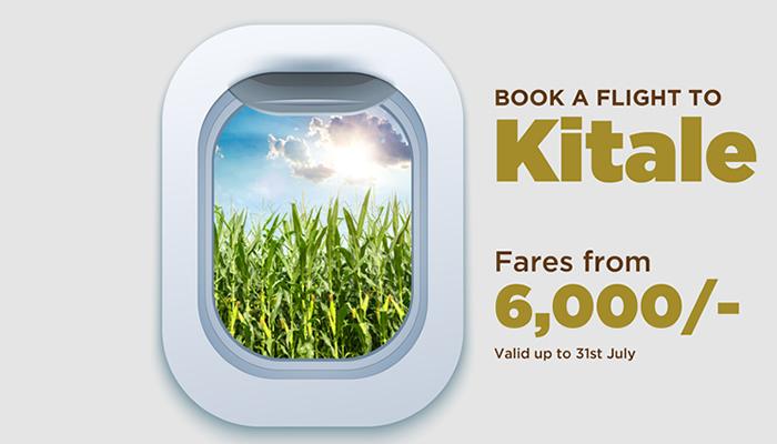 Safarilink Cheap flight deals to Kitale