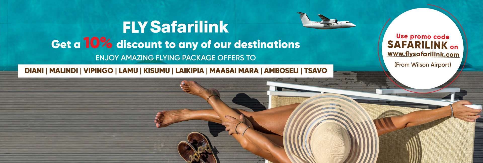 You are welcome to fly with Safarilink