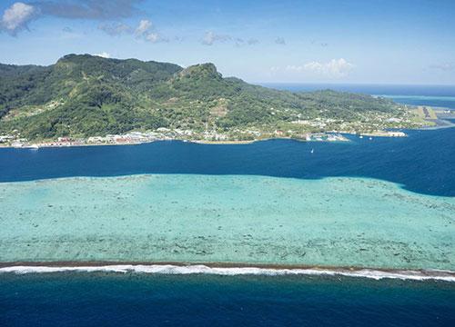 Raiatea - Tahiti Air Charter