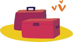 Bagages - Apetahi Express