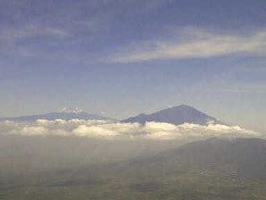 Meru & Kili in Clouds